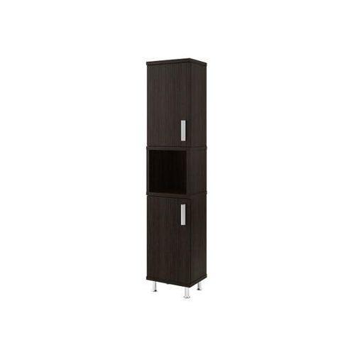 Słupek łazienkowy AMILA II legno ciemne 0412-161600 Aquaform - produkt z kategorii- regały łazienkowe