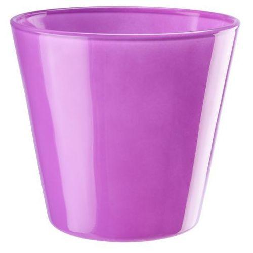 Osłonka szklana średnica 14 cm, fuksja, produkt marki Galicja
