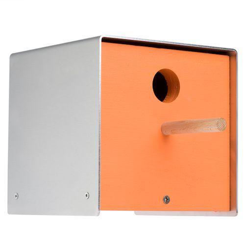 Budka dla ptaków Keilbach Twitter pomarańczowa, produkt marki Produkty marki Keilbach