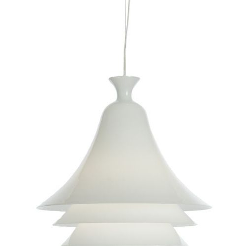 Lampa wisząca Rotaliana Campanula biała - sprawdź w All4home