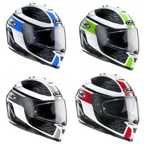 Kask HJC IS-17 PARU PAR-BLUE, PAR-GREEN, PAR-GREY, PAR-RED z kategorii kaski motocyklowe