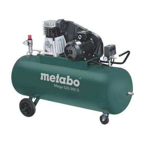 Kompresor elektryczny olejowy Mega 520-200 D Metabo, kup u jednego z partnerów