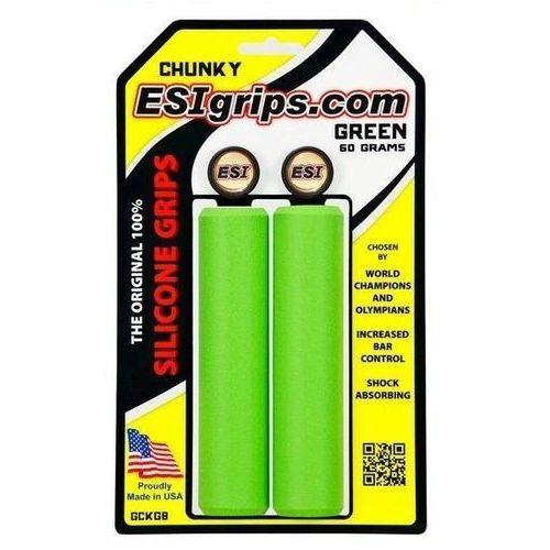Chwyty rowerowe Esi Grips Chunky - żółte - oferta [2594662505e5b4f1]