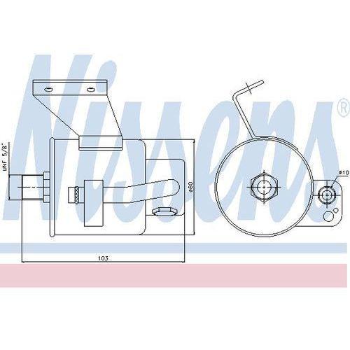 Towar z kategorii: osuszacze powietrza - Osuszacz, klimatyzacja NISSENS 95182