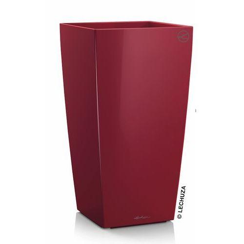 Donica Lechuza Cubico czerwona scarlet red, produkt marki Produkty marki Lechuza