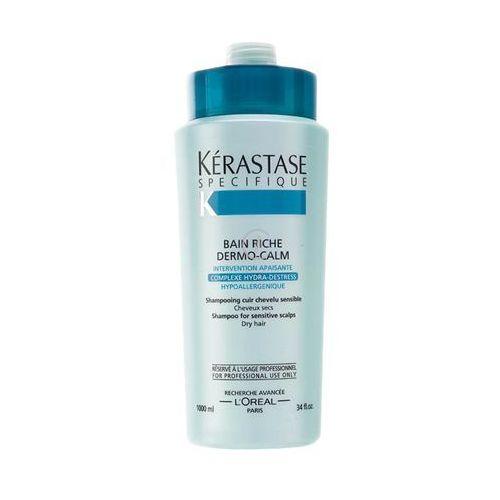 Kerastase SPECIFIQUE BAIN RICHE DERMO-CALM Wzbogacona kąpiel kojąca do włosów suchych (1000 ml) - produkt z kategorii- odżywki do włosów