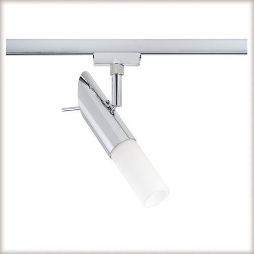 URail Pherus spot do szyn 1x9W E14 chrom z kategorii oświetlenie