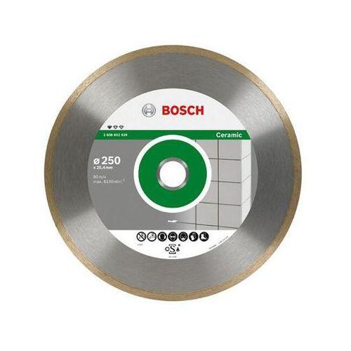 Diamentowa tarcza tnąca Professional for Ceramic 250mm Bosch ze sklepu NEXTERIO