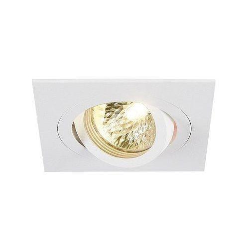 Oprawa punktowa ruchoma HDC-DTL50 aluminium biała matowa kwadrat z kategorii oświetlenie