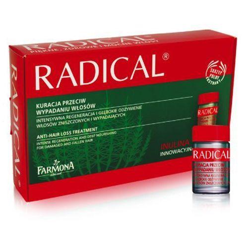 Produkt z kategorii- odżywki do włosów - Farmona RADICAL Kuracja przeciw wypadaniu włosów Skrzyp polny 15x5ml
