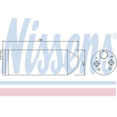 Towar z kategorii: osuszacze powietrza - Osuszacz, klimatyzacja NISSENS 95256