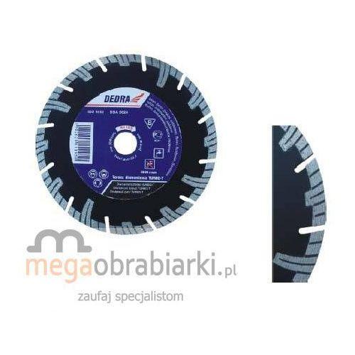 DEDRA Tarcza Turbo T 180 mm H1195 RATY 0,5% NA CAŁY ASORTYMENT DZWOŃ 77 415 31 82 ze sklepu Megaobrabiarki - zaufaj specjalistom