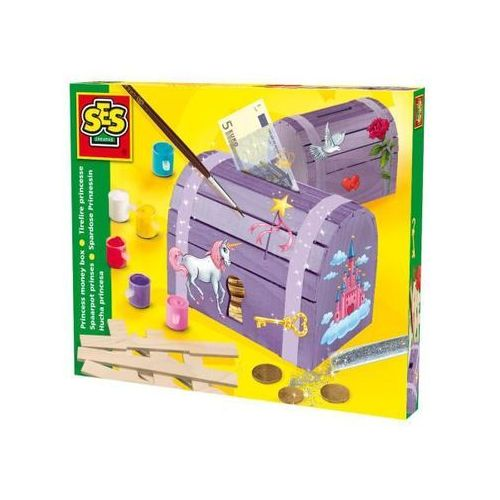 Towar z kategorii: skrzynki i walizki narzędziowe - Ses Skrzynia Skarbów Małej Księżniczki