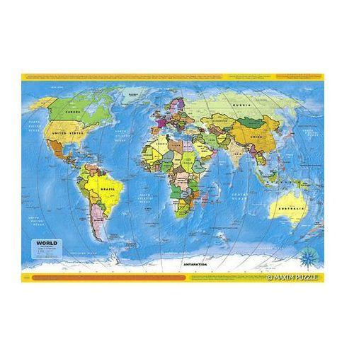 Mapa polityczna Świata - puzzle, produkt marki AB spółka akcyjna