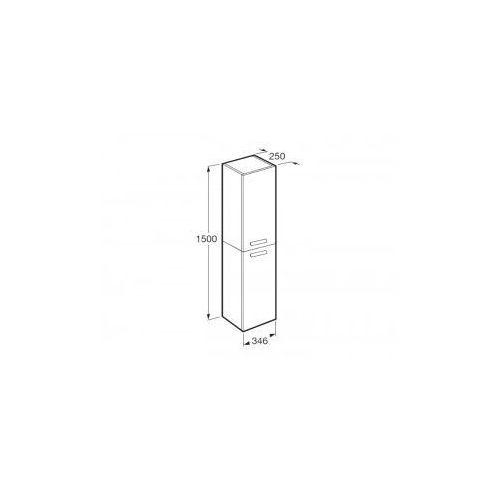 ROCA słupek Debba wenge struktura (kolumna wysoka) A856844154 - produkt z kategorii- regały łazienkowe