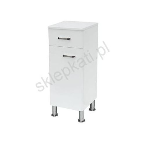 CERSANIT ALPINA półsłupek uniwersalny (lewy/prawy) S516-006 - produkt z kategorii- regały łazienkowe