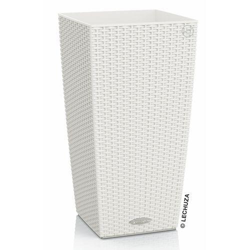 Produkt Donica Lechuza Cubico Cottage biała, marki Produkty marki Lechuza