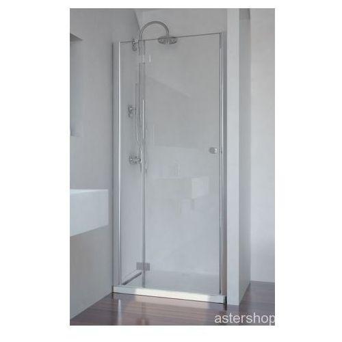 SMARTFLEX drzwi prysznicowe do wnęki lewe 80x195cm D1280L (drzwi prysznicowe)