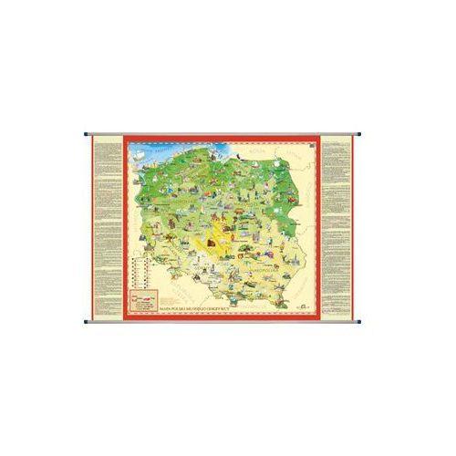 Polska mapa ścienna dla dzieci , produkt marki ArtGlob