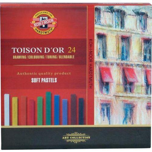 Pastele suche Koh-i-noor Toison D`or 24 kolory - oferta [3536d84473ff9269]