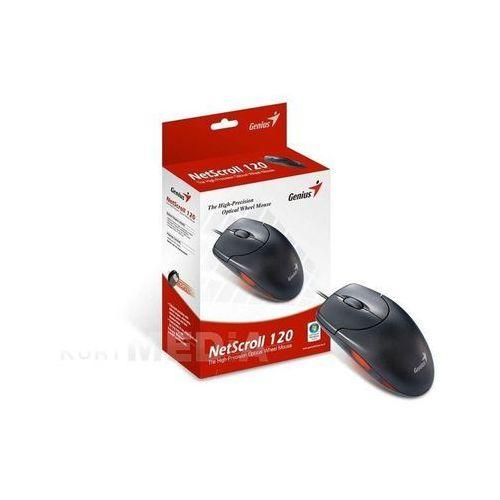 Genius MYSZ GENIUS NETS 120 PS/2 BLACK. z kat. myszy, trackballe i wskaźniki