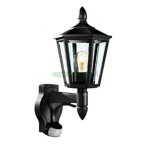 STEINEL Lampa z czujnikiem ruchu i zmierzchu L 15 B czarna TRANSPORT GRATIS ! sprawdź szczegóły w ogrodniczy.pl
