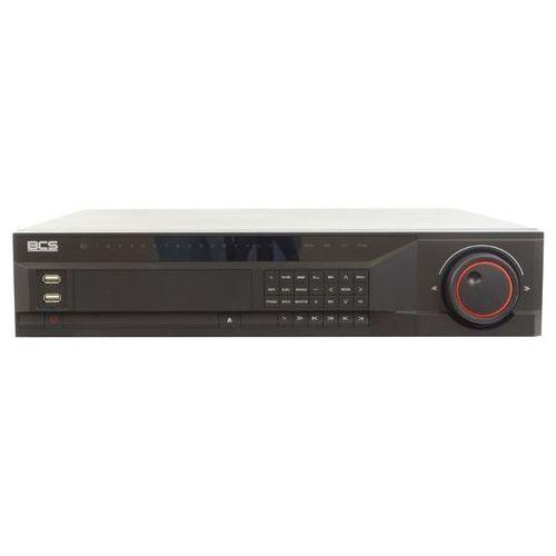 BCS-NVR32085M Rejestrator sieciowy 32 kanałów, switch PoE 8 portów, 8 HDD SATA, USB, VGA, HDMI, PTZ, Bitrate 160/160