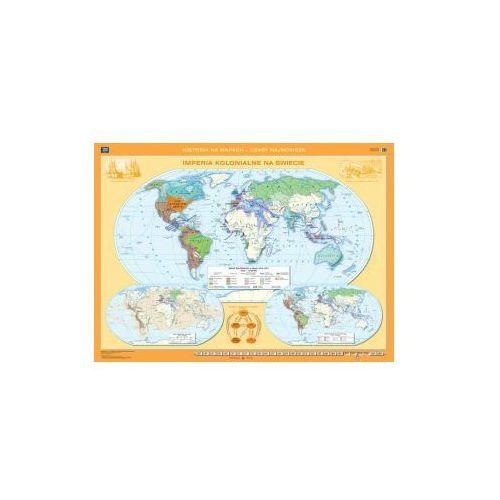 Produkt Imperia kolonialne na świecie. Mapa ścienna, marki Nowa Era