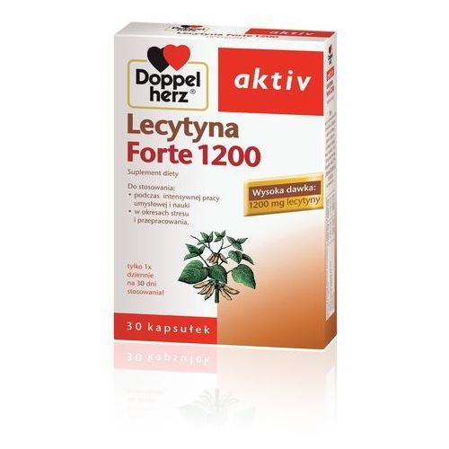 Doppelherz Activ Lecytyna 1200 Forte 30kaps., postać leku: kapsułki