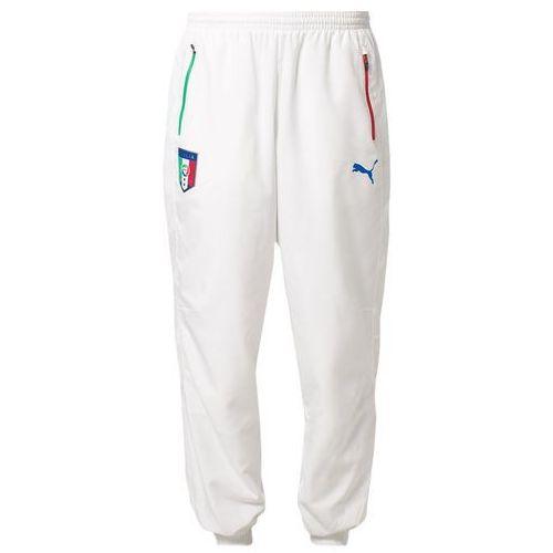 Produkt z kategorii- spodnie męskie - Puma ITALY LEISURE PANTS Spodnie treningowe biały