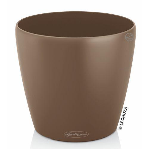 Donica Lechuza Classico Color muszkatołowy brąz, produkt marki Produkty marki Lechuza