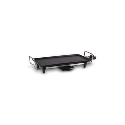 DOM174 Grill stolowy Teppanyaki 43x22cm plyta grillowa Plancha powloka antyadhezyjna 2000W, produkt marki DomoClip