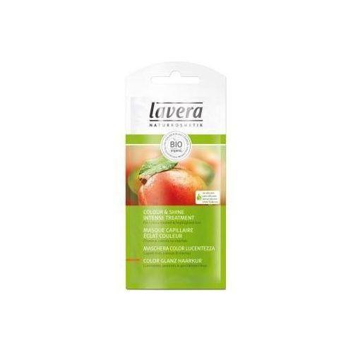 Lavera maska do włosów farbowanych z bio mango, olejem carotino i argininą saszetka 20 ml - produkt z kategorii- odżywki do włosów