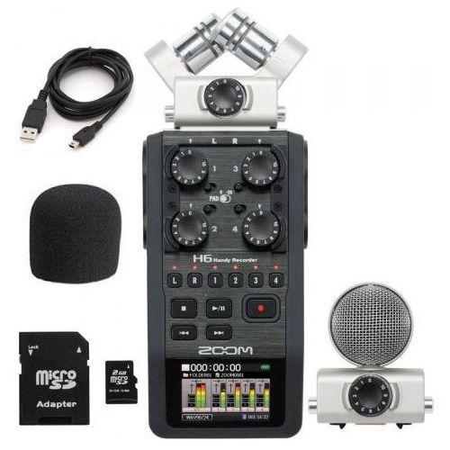 h6 rejestrator dźwięku wyprodukowany przez Zoom