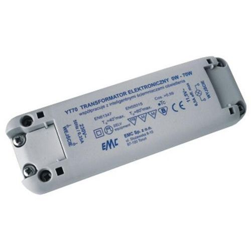 Transformator 1-fazowy elektroniczny 230V 0-70W YT70 EMC_DARMOWA-DOSTAWA_od_999_zł z kategorii Transformatory