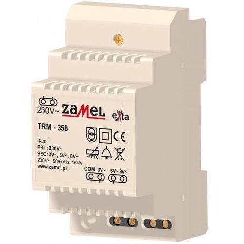 Artykuł TRM-358 Transformator 230/3-5-8V AC 15VA z kategorii transformatory