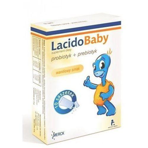 [proszek] LacidoBaby smak waniliowy z witamina C proszek 10 saszetek