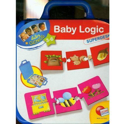 Towar z kategorii: skrzynki i walizki narzędziowe - Baby Genius Logika walizka niebieska
