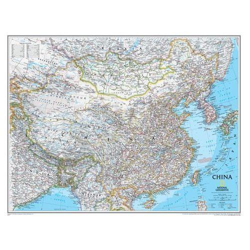Chiny. Mapa ścienna Classic magnetyczna w ramie 1:7,8 mln wyd. , produkt marki National Geographic