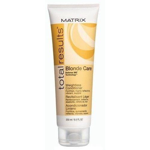 Matrix Total Results Blonde Care Conditioner 250ml W Odżywka do włosów blond - produkt z kategorii- odżywki do włosów