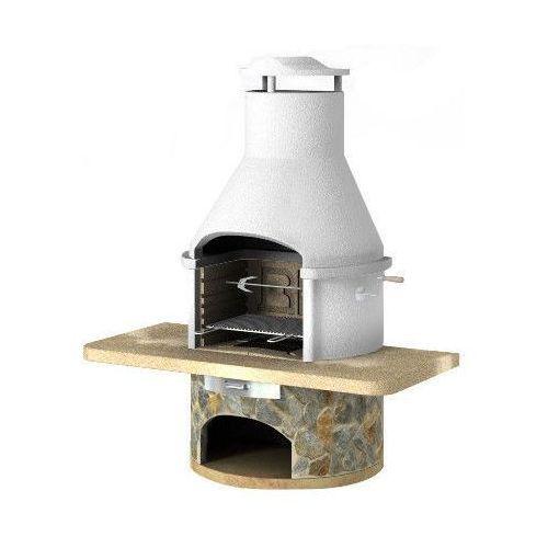 Grill betonowy z wędzarnią Rondo wersja 6 od GrillCenter.com.pl