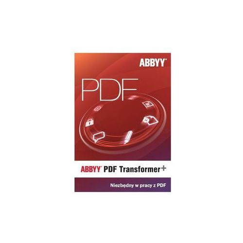 ABBYY PDF_TRANSFORMER_PLUS PROGRAM DO PRACY Z PDF z kategorii Programy biurowe i narzędziowe