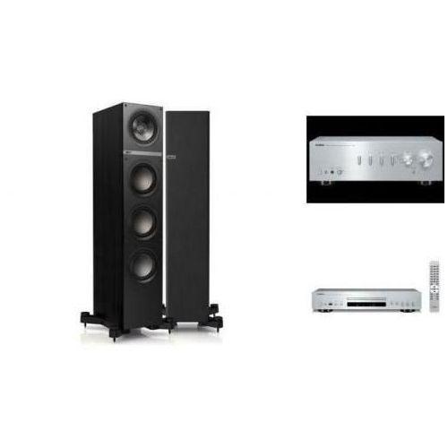 YAMAHA A-S501 + CD-S300 + KEF Q500 czarne - wieża, zestaw hifi - zmontuj tanio swój zestaw na stronie