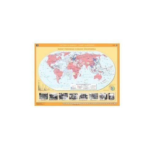 Produkt Świat podczas II wojny światowej. Mapa ścienna świata. , marki Nowa Era