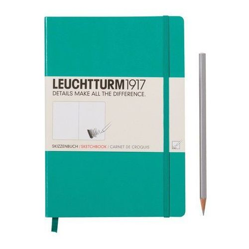 Szkicownik Medium Leuchtturm1917 gładki szmaragdowy 344999 - oferta [3527e00571e2852e]