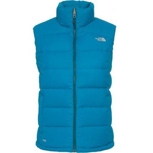 Towar  W Nuptse 2 Vest Brilliant Blue L z kategorii kurtki dla dzieci