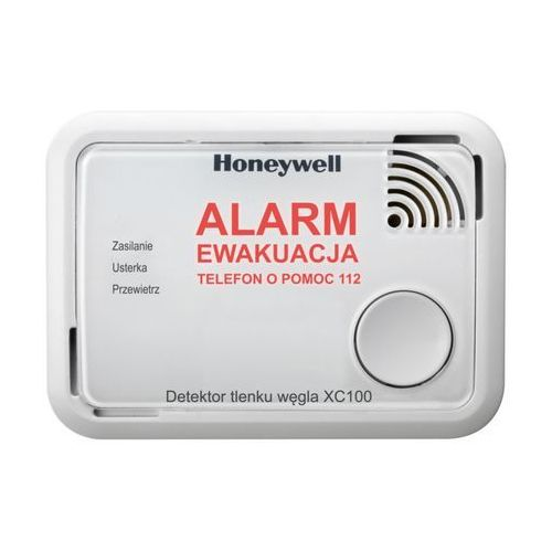 Honeywell XC100 - Detektor tlenku węgla (10 LAT) z kategorii Pozostałe ogrzewanie