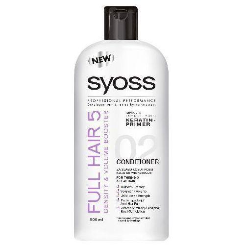 SCHWARZKOPF SYOSS FULL HAIR 5 ODŻYWKA DO WŁOSÓW PRZERZEDZAJĄCYCH SIĘ 500ML - produkt z kategorii- odżywki do włosów