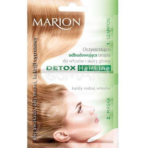 Produkt z kategorii- pozostałe kosmetyki do włosów - Marion Oczyszczająco-odbudowująca terapia, 23 ml