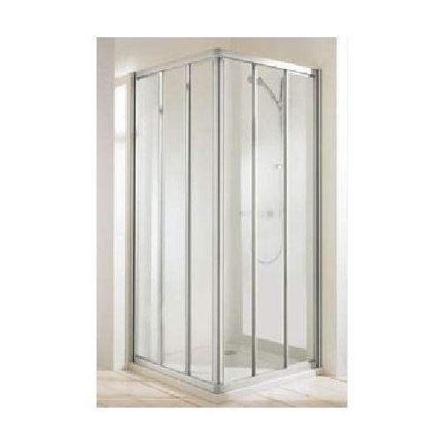 HUPPE CLASSICS ELEGANCE Wejście narożnikowe, drzwi suwane 3-częściowe (1/2) 501270 (drzwi prysznicowe)